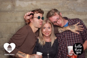 Obviously the three coolest VIP's there.  (Left to right:  Scot, me, Scot's friend Aaron)