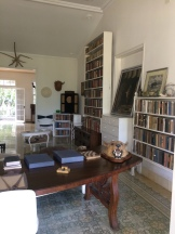 Hemingway's library/office
